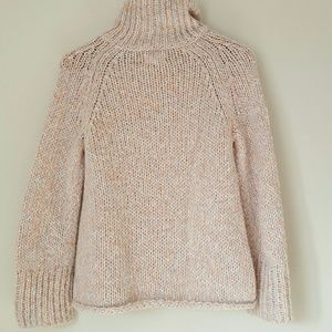 Lou & Grey Sweaters - Lou & Grey chunky knit pink and blue sweater